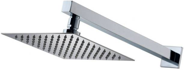 """Prestige Stainless Steel 6""""x6"""" Ultra Slim Shower with 12inch square arm Shower Head"""