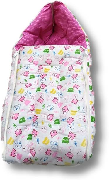 DALUCI My New Born Baby Super soft, Premium quality Wrapper blanket Sleeping Bag
