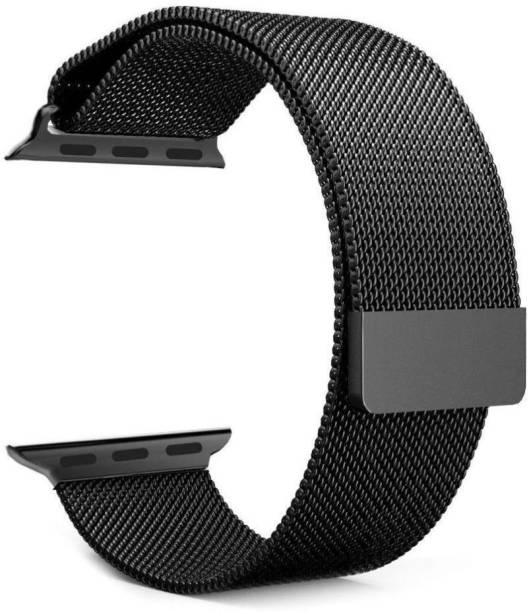 TanTurtle Stainless Steel Mesh Loop with Strong Magnet Compatible For iWatch 38mm/40mm Series 6/SE/5/4/3/2/1 Suitable For All Size (S/M/L) Smart Watch Strap