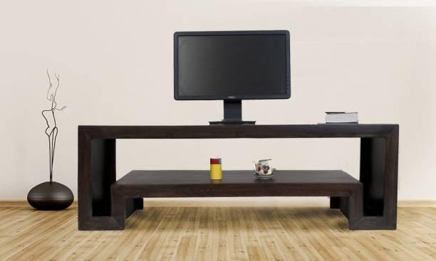 Flipkart Perfect Homes HEMA-TVC-DW-PH Solid Wood TV Entertainment Unit
