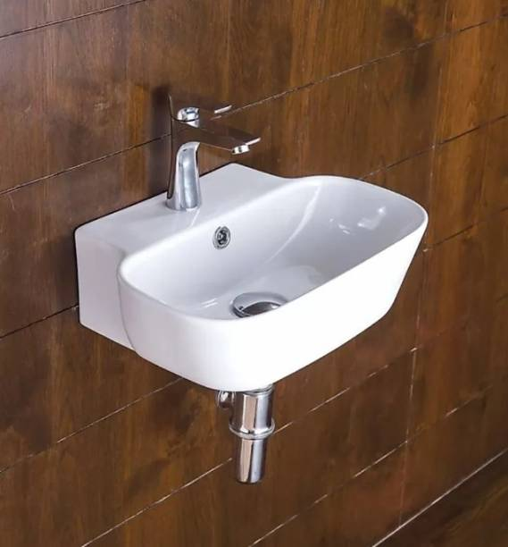 IVOC counter top wall hung basin size { 16.5 x 12.5 x 5.5 INCHES } crema best basin Table Top Basin