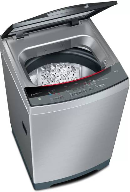 BOSCH 12 kg Fully Automatic Top Load Silver