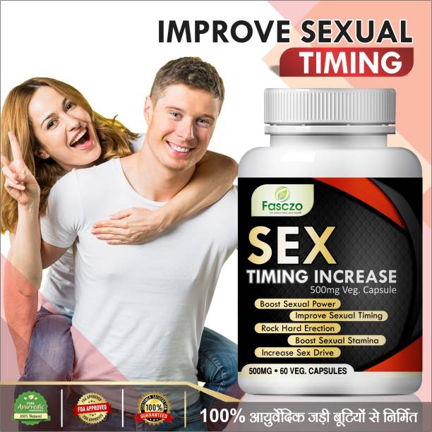 Fasczo Sex Timing Increasing Capsules For Helps To Boost sexual desire 100% Ayurvedic