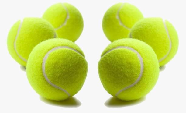 Star X Cricket Tennis Ball, Pack of 6 Balls Cricket Tennis Ball