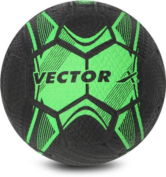 VECTOR X Street Soccer Rubber Moulded Football - Size: 5