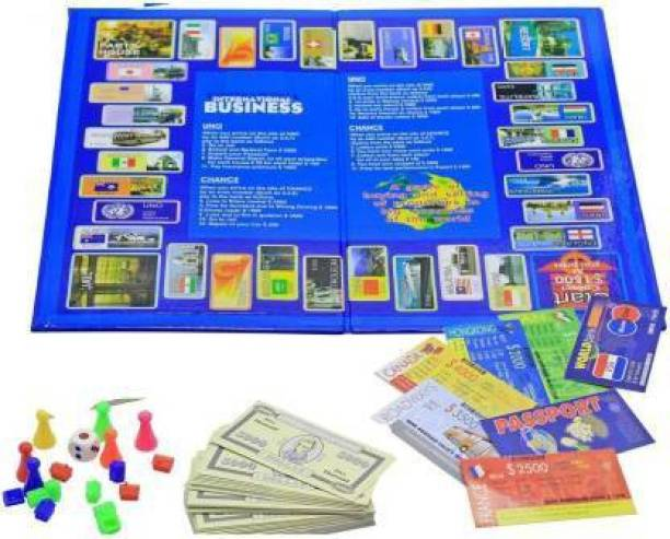 PURVI International Business Money & Assets Games Board Game