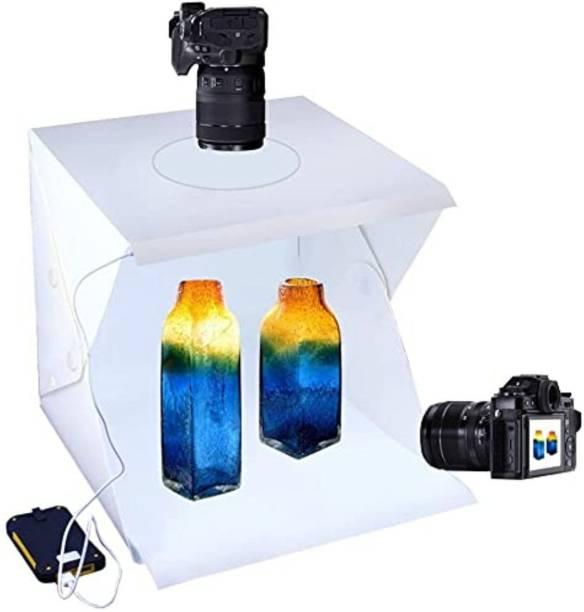 Satyam Kraft Mini Photo Studio Box Light Tent Kit for Product Photoshoot, Photography and DIY, 1 Piece (40 cm)  Camera Bag