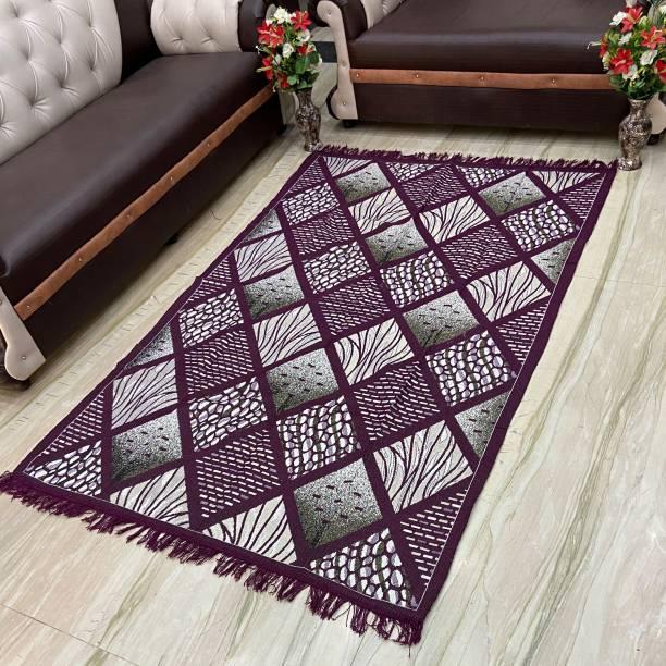 Nature A Purple Cotton Carpet