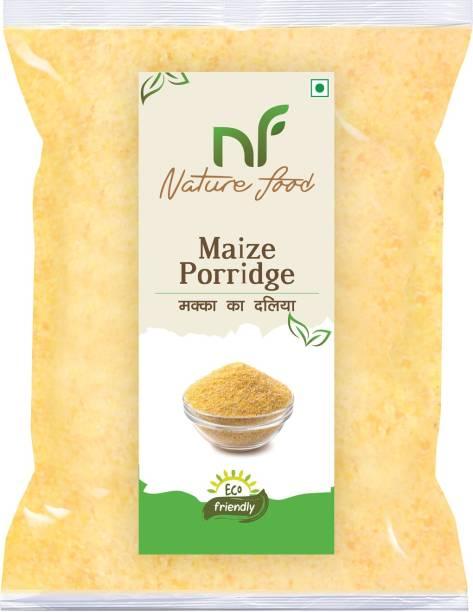 Nature food Best Quality Maize Porridge / Makka Daliya (Corn ) - 4KG Pack