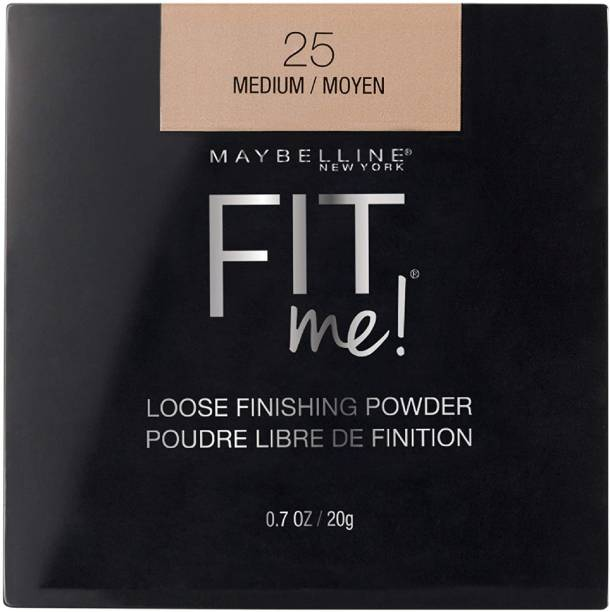 MAYBELLINE NEW YORK FIT ME 25 MEDIUM LOOSE FINISHING POWDER 20G Compact