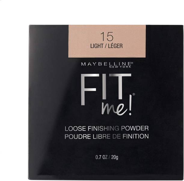 MAYBELLINE NEW YORK FIT ME 15 LIGHT LOOSE FINISHING POWDER 20G Compact
