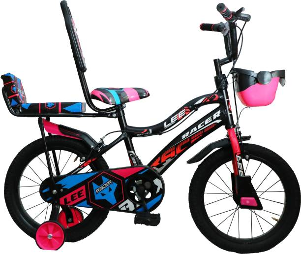 """Dolfin Racer 16"""" Tube tyre S/Rim Cycle for Kids 4 to 7 Years (Semi-Assembled) 16 T BMX Cycle"""