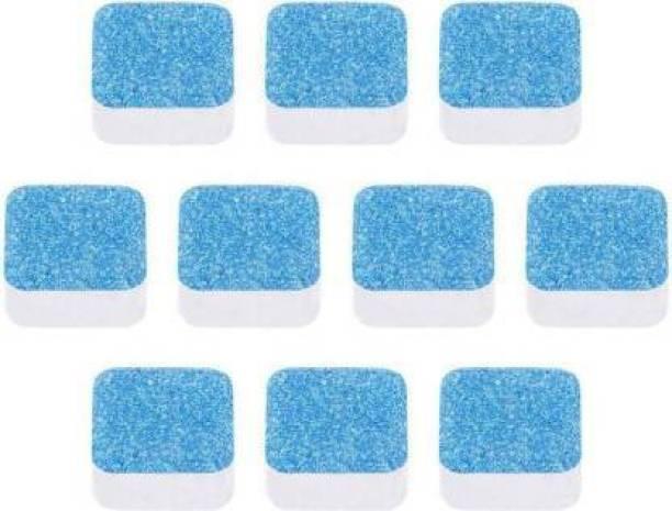 Bluerain Enterprise 10 Pcs Washing Machine Descaler Tablets ,Washing Machine Tablets for Cleaning Dishwashing Detergent Dishwashing Detergent