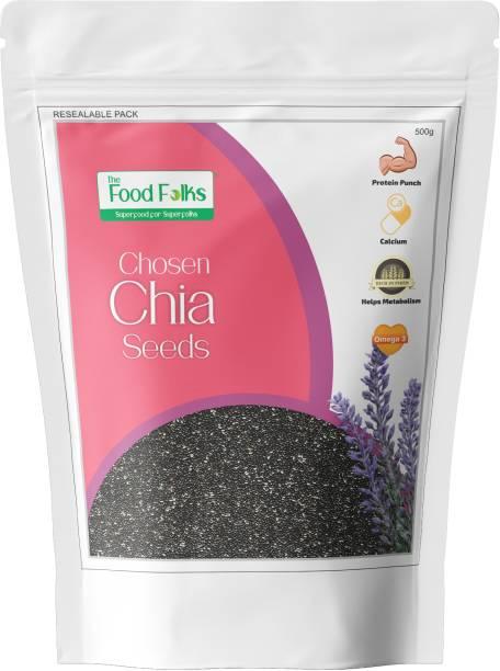 The Food Folks Chia Seeds 500g