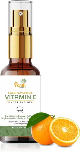 Parsh Eye Gel with Sweet Almond Oil & Vitamin E to Reduce Dark Circle