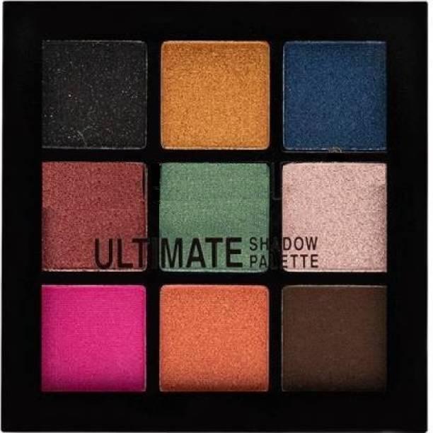 LA OTTER Lyon Beauty 9 Color HD Eyeshadow Palette 9 g