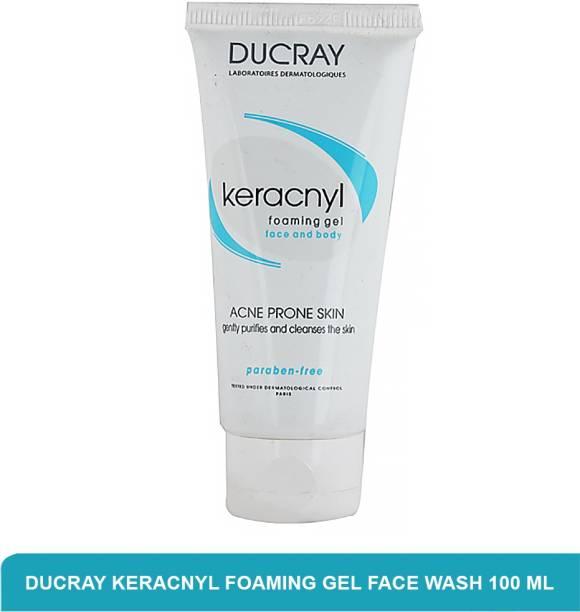 DUCRAY Keracnyl Foaming Gel | Best  For Acne Prone Skin 100ml Face Wash