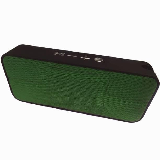 BeerTech X-BS334 Portable Bluetooth Music Speaker USB-TF Card Player FM Radio FM Radio