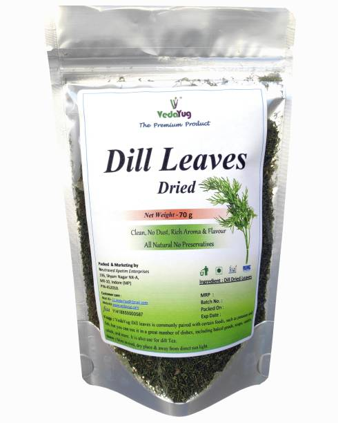 VY VedaYug Dill Leaves / Dill Weed / Dill Top