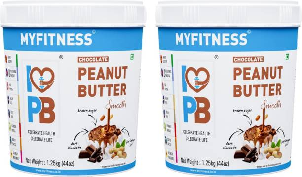 MYFITNESS 1250g Chocolate Pack of Two 2500 g