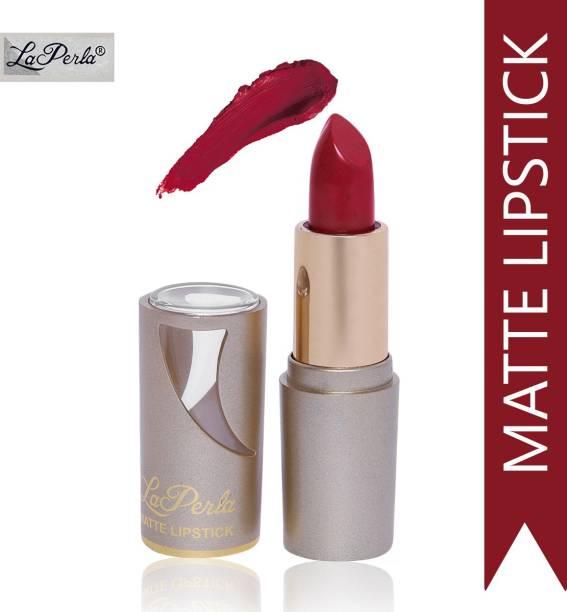 La Perla (Golden Toya) Creamy Matte Lipstick (Indie Maroon)