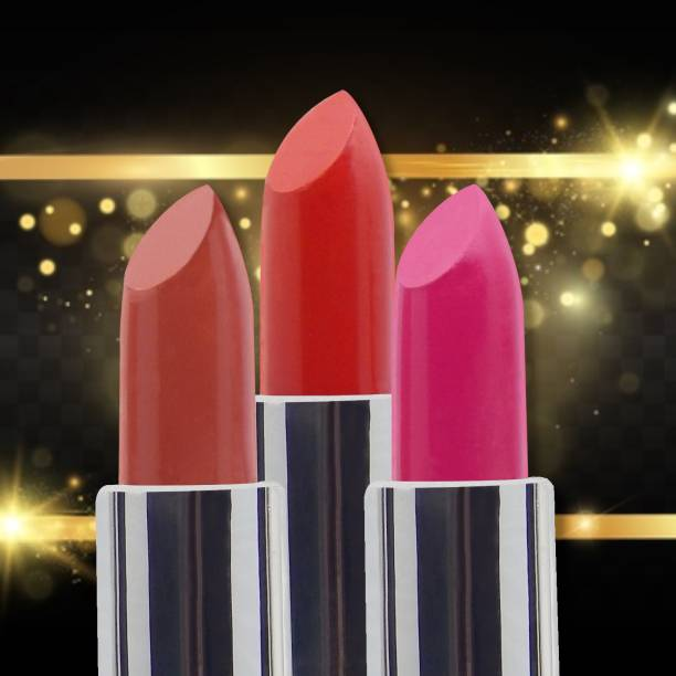 FIRSTZON balm super matte lipstick combo pack of 3 super shades