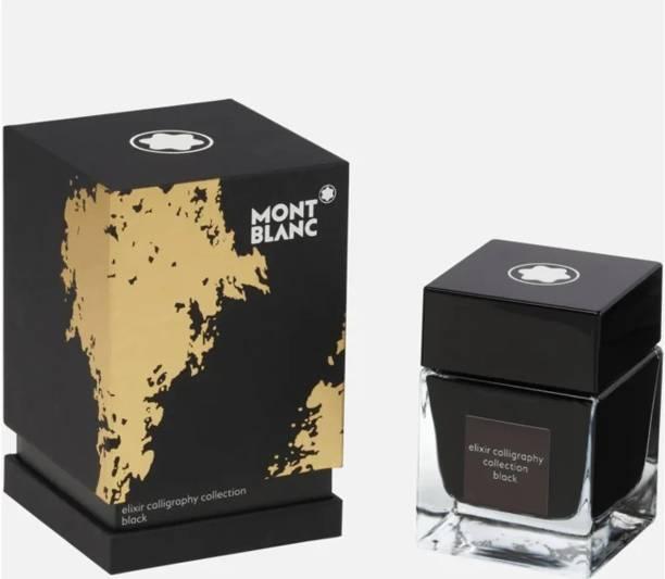 Montblanc ELIXIR CALLIGRAPHY Collection BLACK (50mL). Ink Bottle