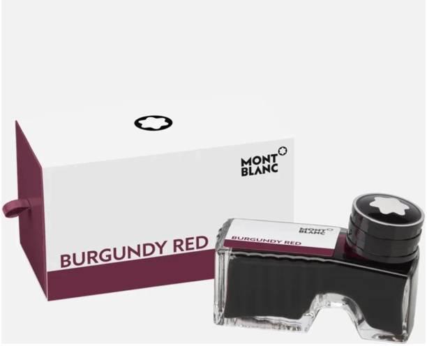 Montblanc BURGUNDY RED (60mL). Ink Bottle