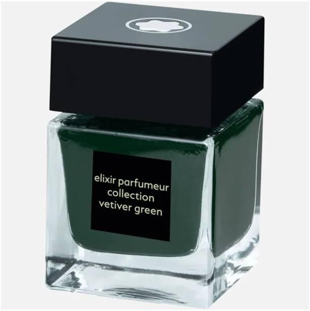 Montblanc ELIXIR PARFUMEUR Collection VETIVER GREEN (50mL). Ink Bottle