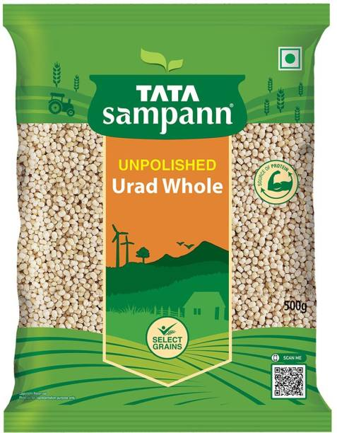 Tata Sampann White Urad Dal (Whole)