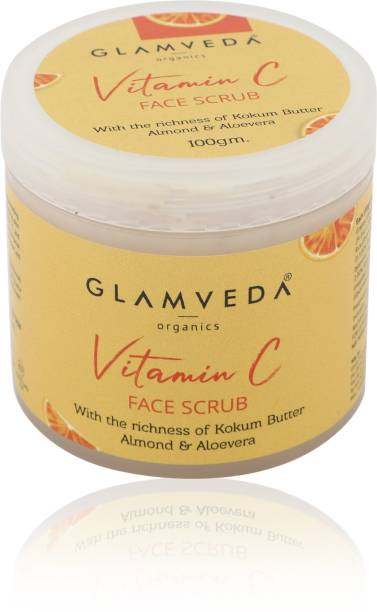 GLAMVEDA Vitamin C Lightening & Brightening Scrub | 100 gm Scrub