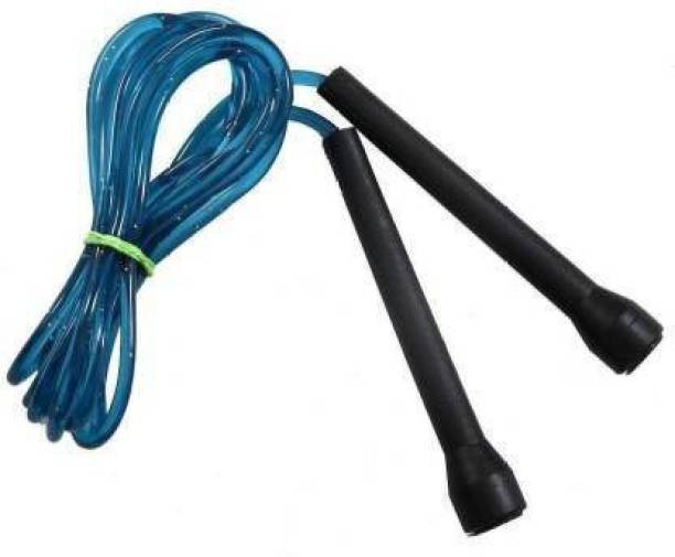 AJRO DEAL Skipping Rope Weight Loss Pencil Rope Freestyle Skipping Rope ( Length: 274 cm) Ball Bearing Skipping Rope