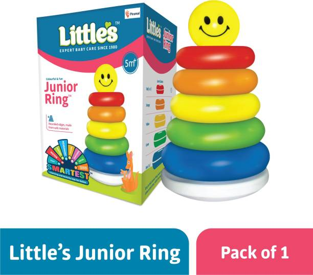 Little's Junior Stacking Ring Toys for Kids,