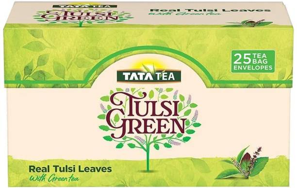Tata Tulsi Green Tea Bags Box