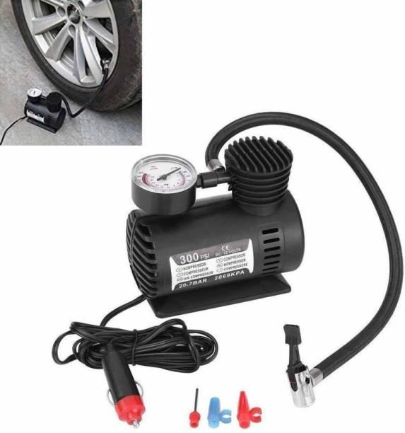 BOJ 300 psi Tyre Air Pump for Car & Bike