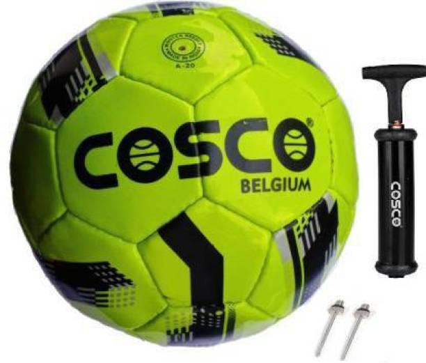 "COSCO Belgium ""Kids"" Football and Dual Action Ball Pump Football - Size: 3"