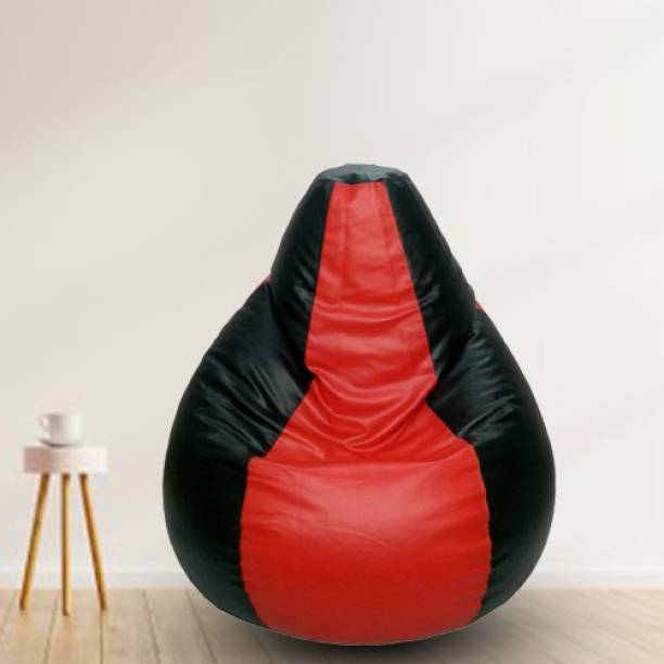 Gunj XXXL Teardrop Bean Bag  With Bean Filling