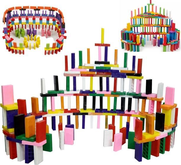TechHark Big Size Domino Block Construction Set Stacker Toy, Balance Toy For Kids