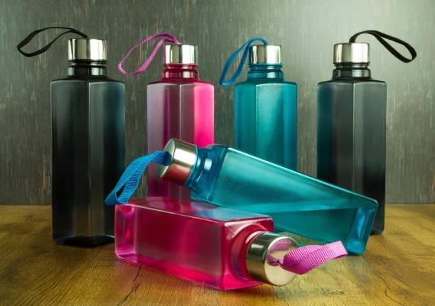 Shoptool New Unbreakable & Exclusive Edition Plastic Water Bottle, for Fridge  School 1000 ml Bottle