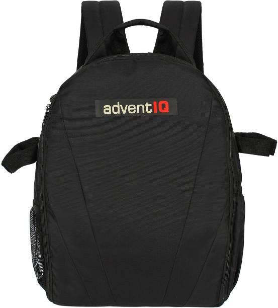 AdventIQ DSLR/SLR Camera Lens Shoulder Backpack Bag-(BNP 0275-Black clr)  Camera Bag