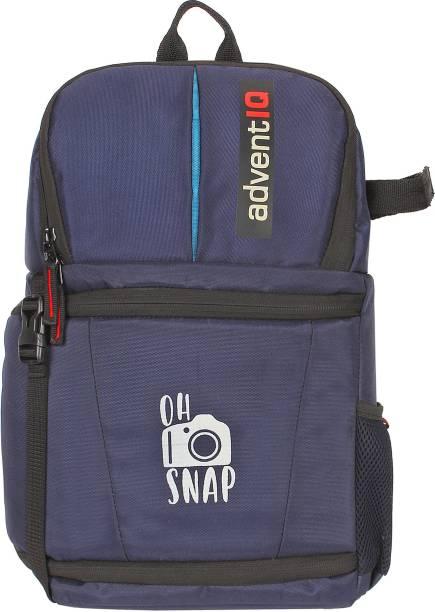 AdventIQ DSLR/SLR Camera Lens Cross Body Bag- BNP0276A-Oh Snap Printed-Navy Clcr  Camera Bag