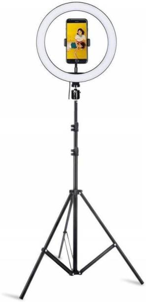 Tekno Selfie Ring Light with Tripod Stand for Live Stream-LED, Video maker & for best selfie Ring Flash
