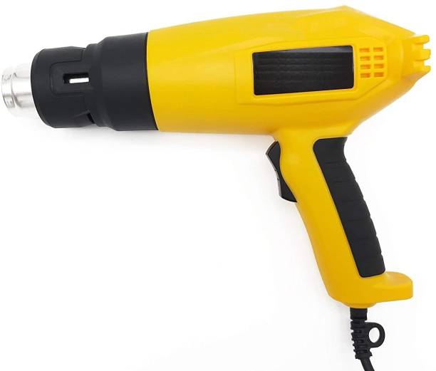 GSK Cut Hot Air Gun 2000W Industrial Heat Gun Heavy Duty Suitable for Shrink Wrapping, Packing, Stripping Paint 2000 W Heat Gun