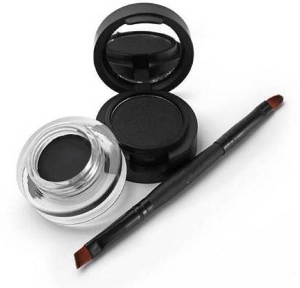 SARA BEAUTY Studio touch Gel Kajal + Eyeliner 12 g (Black)