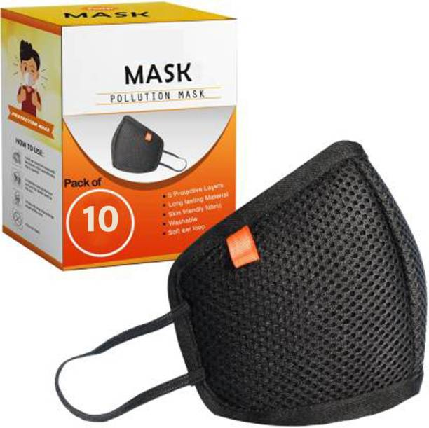 Maitri Supermask 10 reusable outdoor protection mask Cloth Mask With Melt Blown Fabric Layer Cloth Mask With Melt Blown Fabric Layer