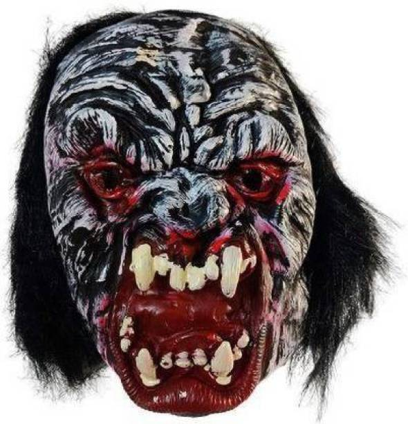 Gagan gulshan enterprises Rubber Fancy Horror Scary Ghost Face Mask Party Mask