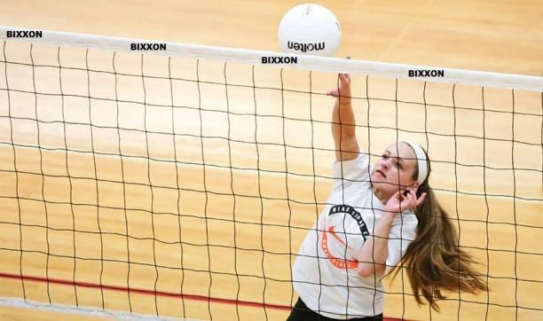 Bixxon VP-5 Volleyball Shooting Practice Cotton Net Pack of 1 NeT Volleyball Net