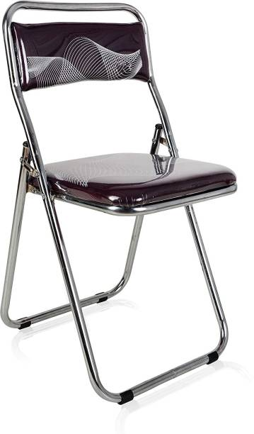 Patelraj Metal and Cotton Office Folding Chair