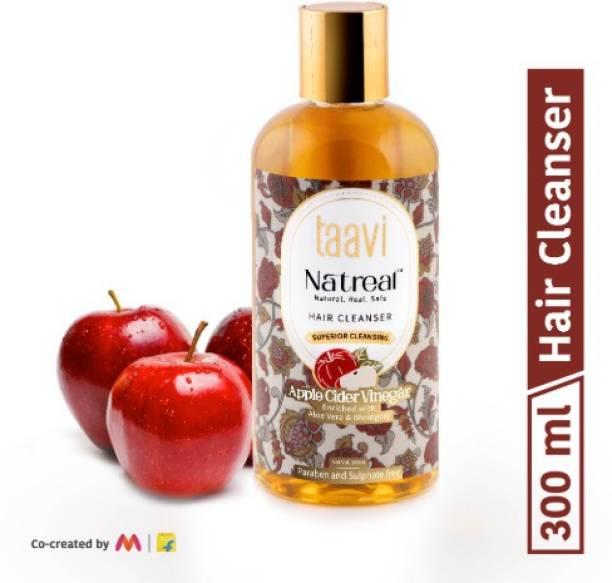 Taavi Natreal Apple Cider Vinegar Hair Cleanser for Superior cleansing - NO Harmful chemicals, only real ingredients