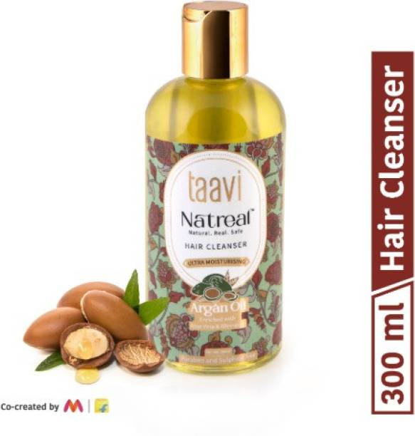 Taavi Natreal Argan Oil Hair Cleanser for Ultra Moisturisation - NO Harmful chemicals, only real ingredients